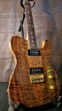 Custom Built Built Guitar